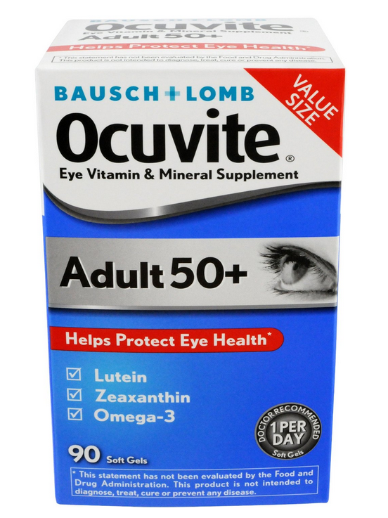 Thuốc bổ mắt Bausch Lomb PreserVision của Mỹ