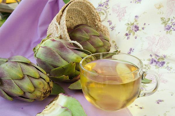 công dụng của trà atiso